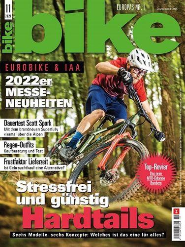 Cover: Bike Das Mountainbikemagazin November No 11 2021