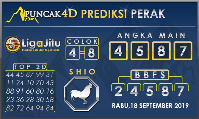 PREDIKSI TOGEL PERAK PUNCAK4D 18 SEPTEMBER 2019