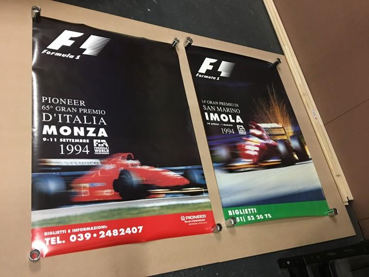 1994 San Marino (Imola) F1 Grand Prix race event poster dvd
