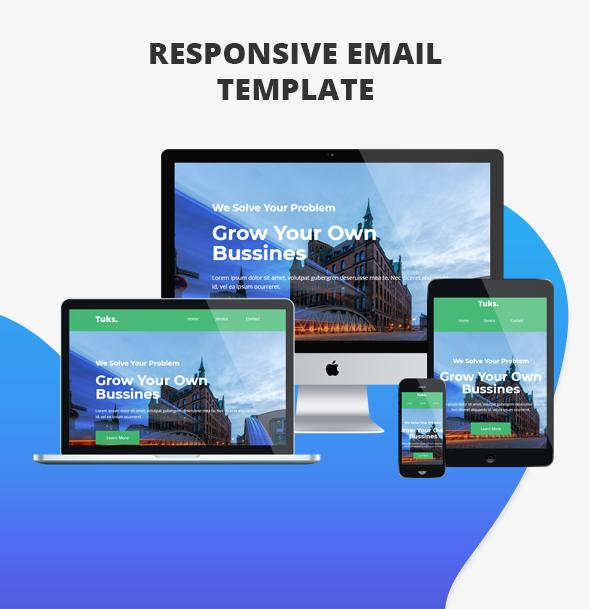 Metuks - Responsive Email Template - 2