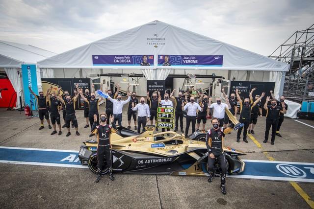 DS Automobiles domine le championnat de Formula E pour la deuxième saison consécutive ! Winning-0
