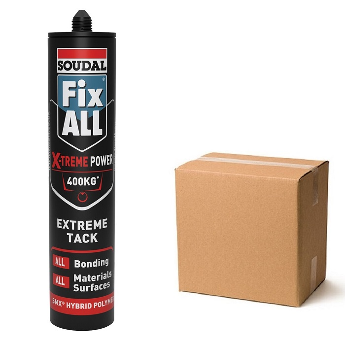 Soudal-Fix-All-Xtreme-Power-High-Strength-Tack-Adhesive-127479-Box-of-12