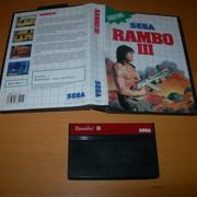 [VENDUS] 28 jeux MASTER SYSTEM -> 100€ FDPIN Rambo-3