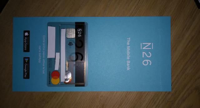 N26 addio spese su acquisti all'estero + Scegli tu il PIN Carta! Mastercard Gratis. Carta-N26