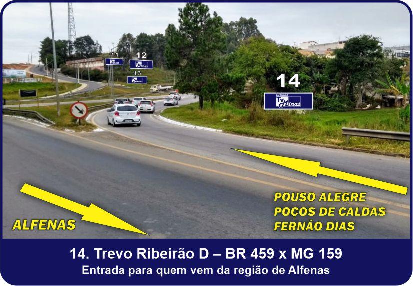 Outdoor TV Minas - Trevo Ribeirão D