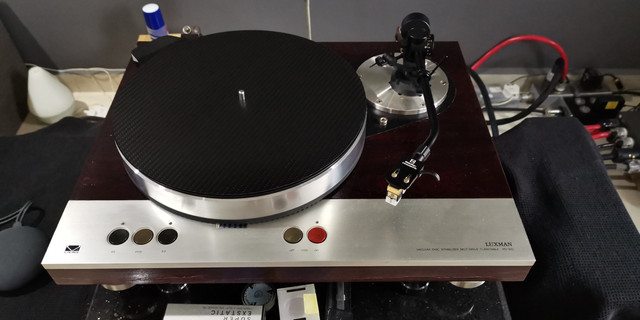 Luxman pd310 turntable + fidelity research fr64fx tonearm  IMG-20181117-WA0006