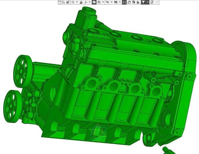 ВАЗ-V8. Восьмицилиндровый из двух вазовских. V8-57