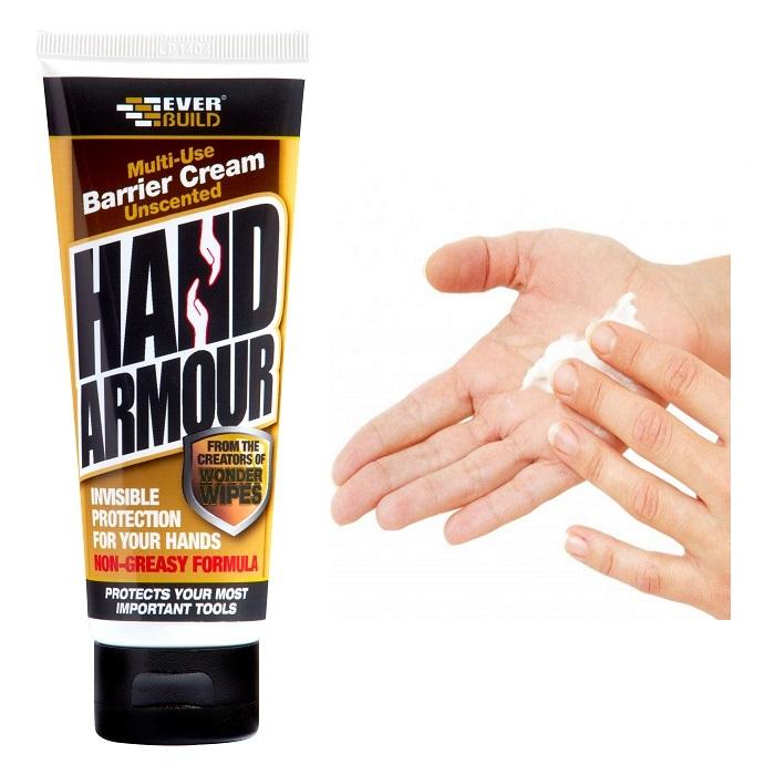 Everbuild Hand Armour Barrier Cream HAND01 Non-Greasy