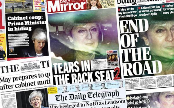 İngiliz Basını Theresa May