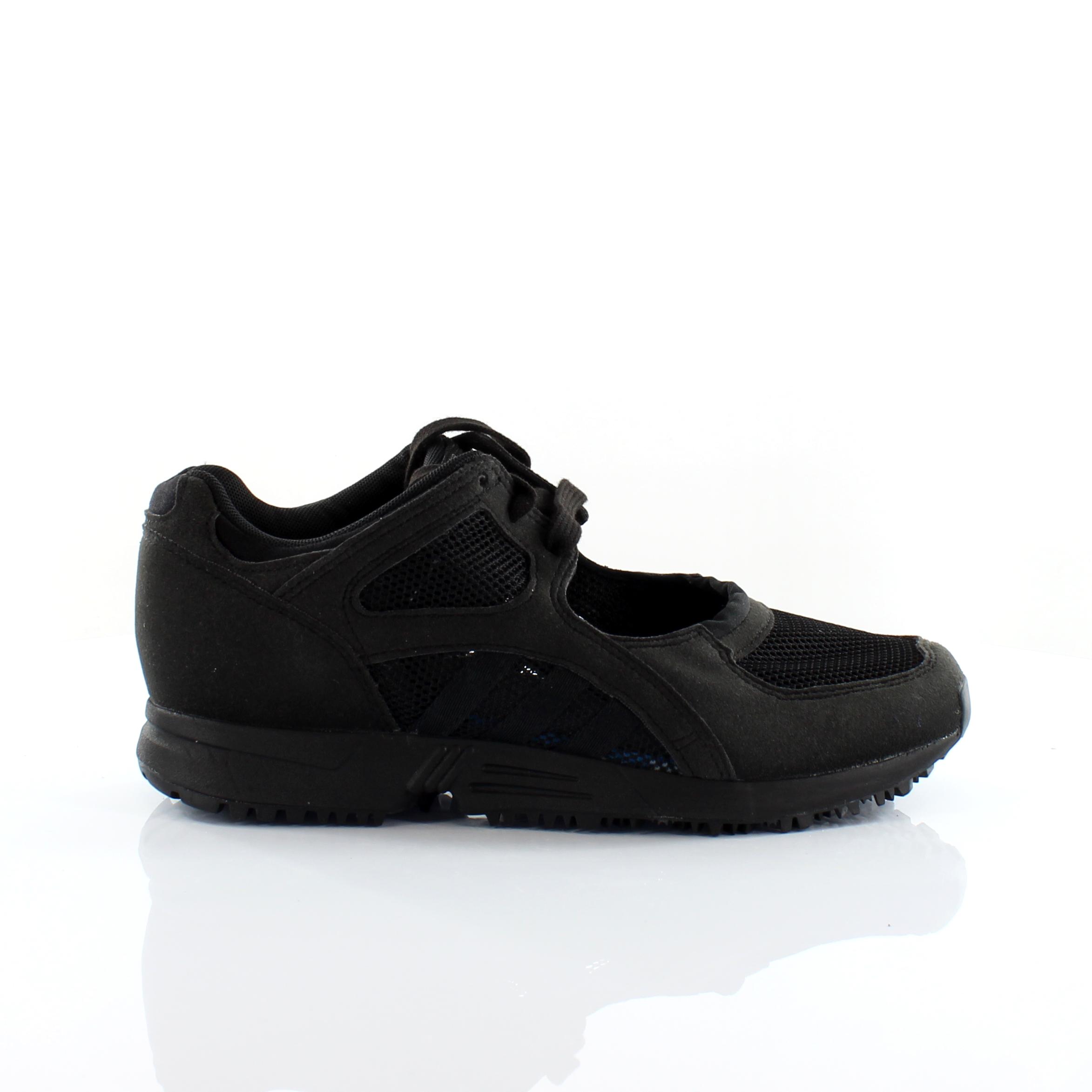 Adidas Originals Eqt Racing 91 Lace Up Black Cut Out Womens ...