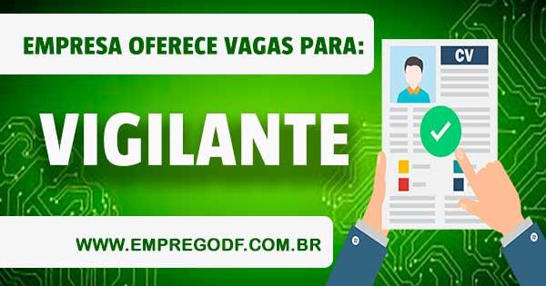 EMPREGO PARA VIGILANTE - PCD COM O SALÁRIO DE R$ 2.194, 65
