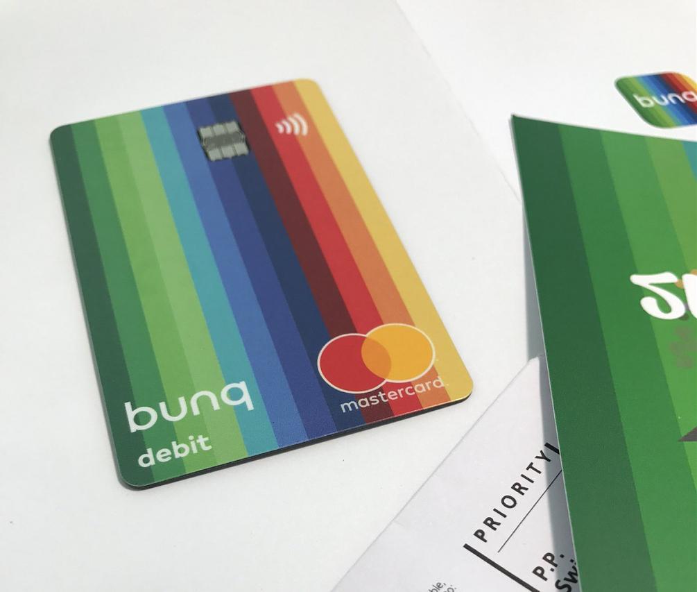 Bunq! 3 Bellissime carte +Bonifici Istantanei e 25 IBAN usa e getta INCLUSI + PROMO 10,00 € DI APERTURA Carte-Bunq-1