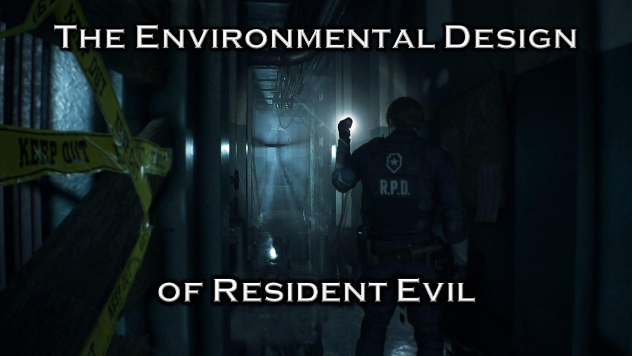 The Environmental Design of Resident Evil Icon
