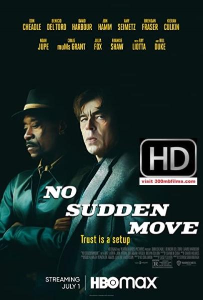 No Sudden Move (2021) 720p WEB-DL 750MB nItRo