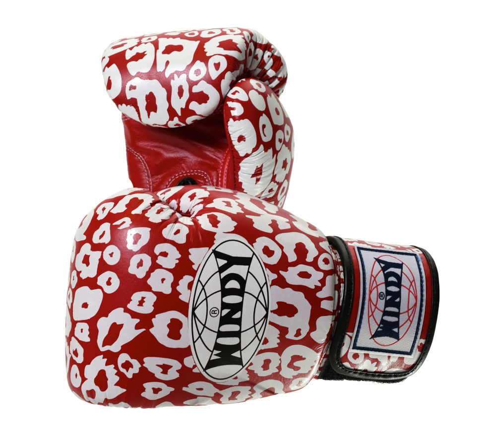 Оригинал Боксерские перчатки красные Windy Special Таиланд КОЖА