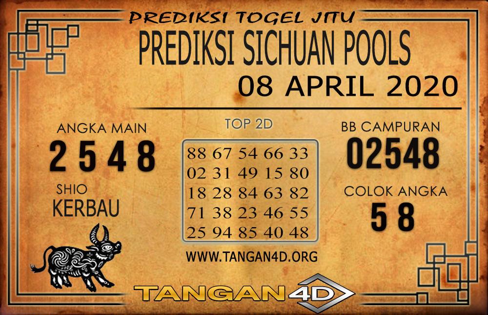 PREDIKSI TOGEL SICHUAN TANGAN4D 08 APRIL 2020