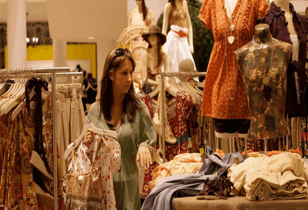 Shopping Clothing