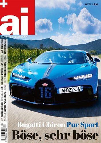 Cover: Auto-Illustrierte Magazin No 10 Oktober 2021
