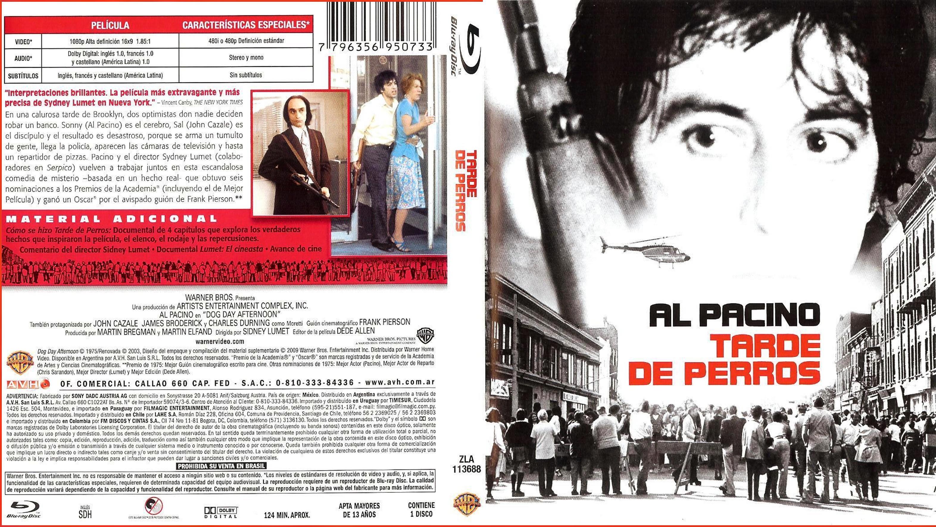 Tarde De Perros (1975) x265 10 Bits 1080p Latino