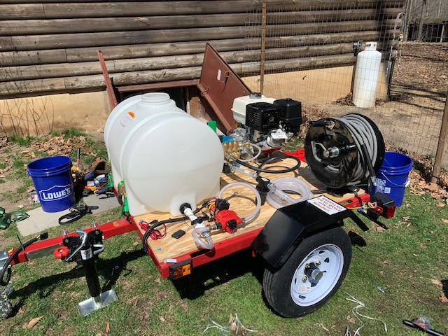 Pressure Washer Trailer Build The