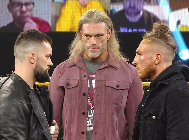 EDGE reta a Pete Dunne y Finn Bálor NXT Vengeance 3 Febrero