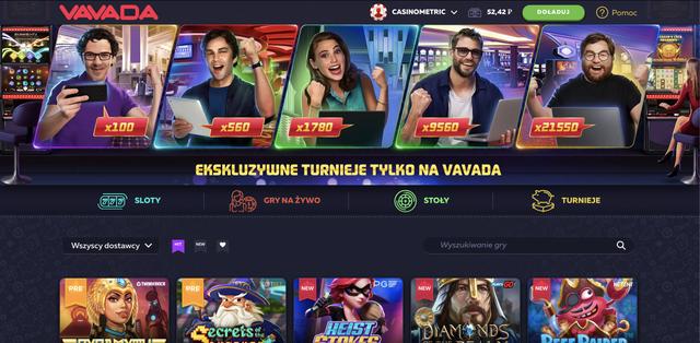vavada kasyno gry hazardowe