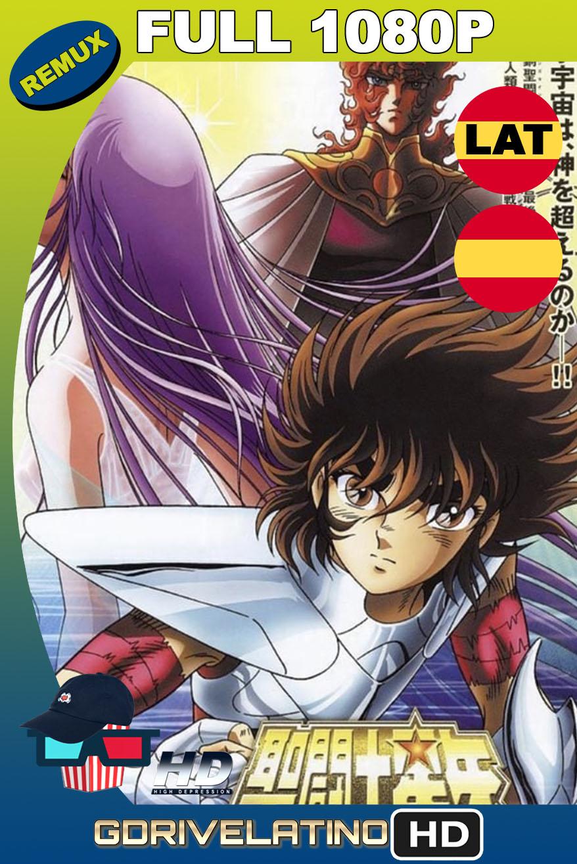 Saint Seiya: Los Caballeros del Zodiaco Obertura del Cielo (2004) BDRemux 1080p Latino-Castellano-Japonés MKV