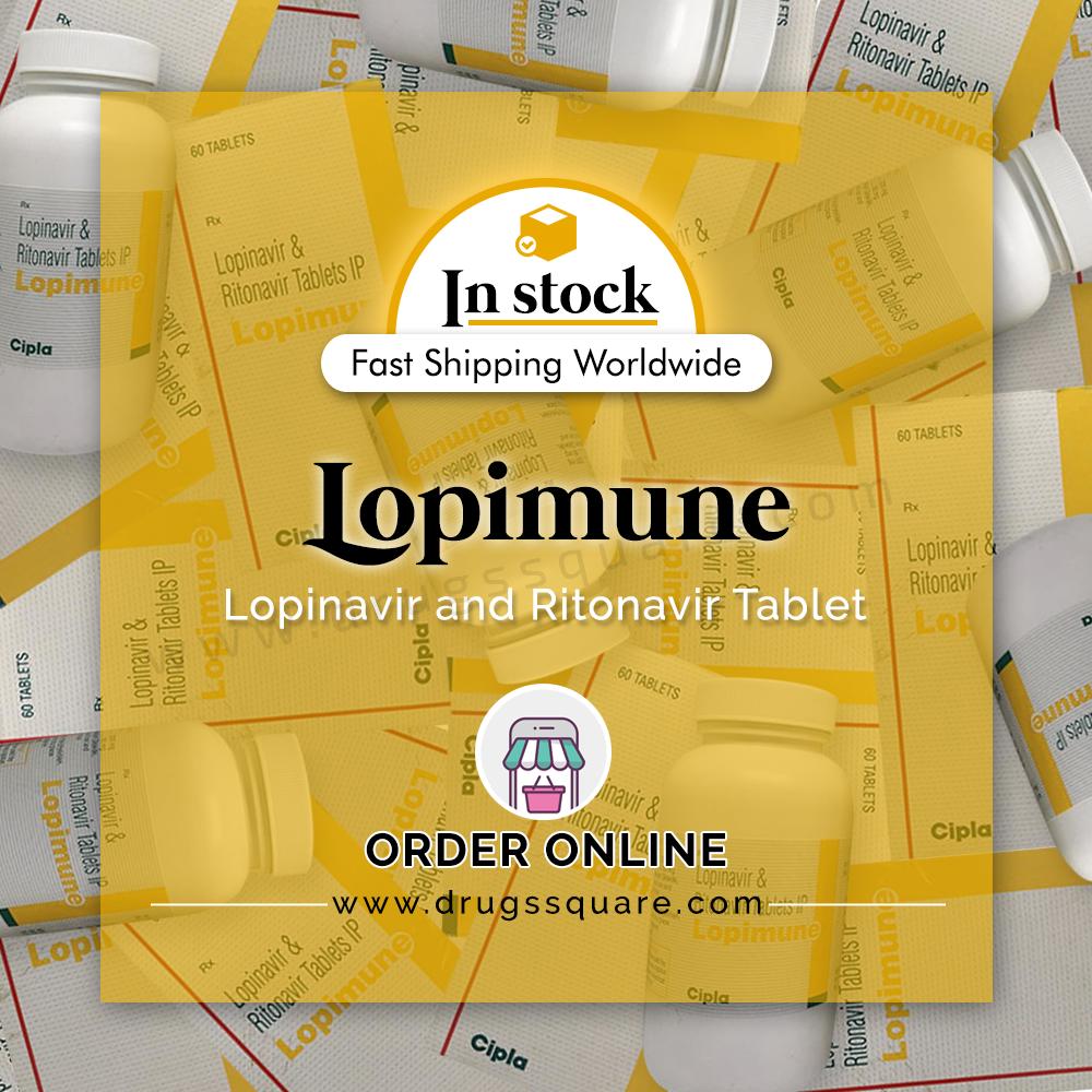 Lopimune Tablet Price (общий лопинавир ритонавир) - Купить лекарство от ВИЧ онлайн из Индии