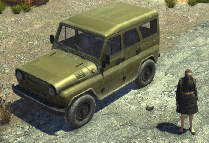 UAZ 3151 Military / УАЗ 3151 Военный