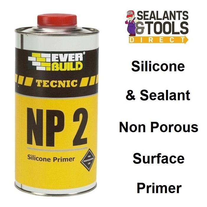 Everbuild Tecnic Non Porous Surface Silicone Primer SILPRIMENP2