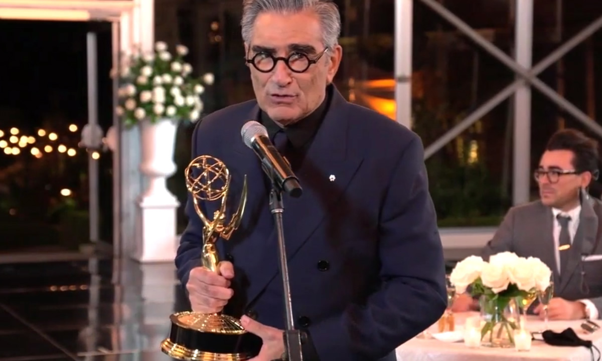 vencedores-emmy-2020-watchmen-schitts-creek-eugene-levy-coletivo-nerd