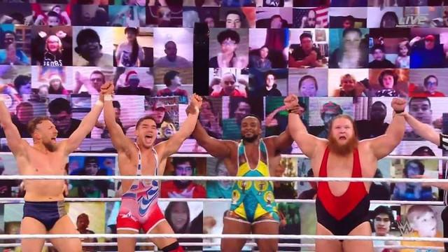Daniel Bryan Otis Chad Gable y Big E ganan en el KickOff de WWE TLC 2020