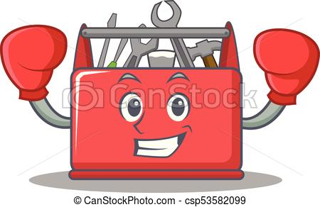 """boxing-tool-box-character-cartoon-drawing-csp53582099"""" border=""""0"""
