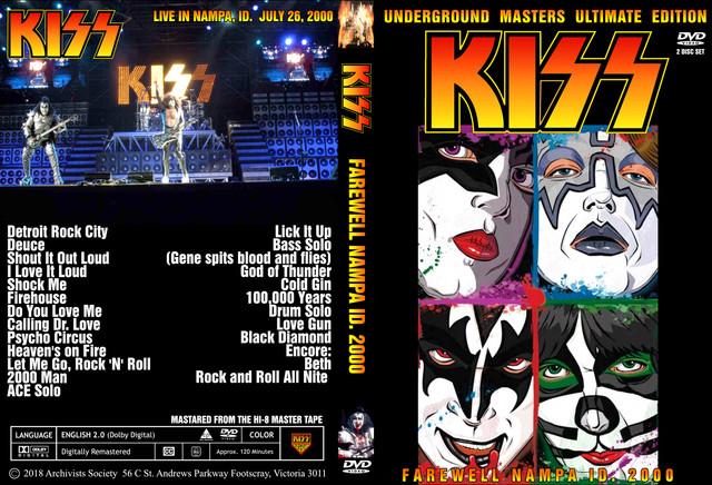 KISS - 2000-07-26 ~ Nampa, ID Mick E Gee 2018 - Guitars101 - Guitar