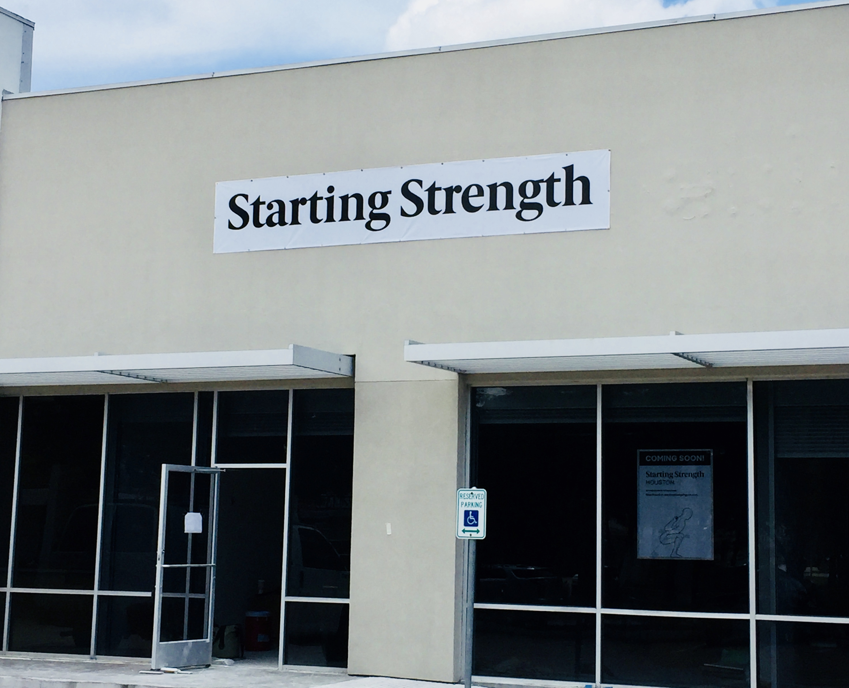 Starting Strength Houston