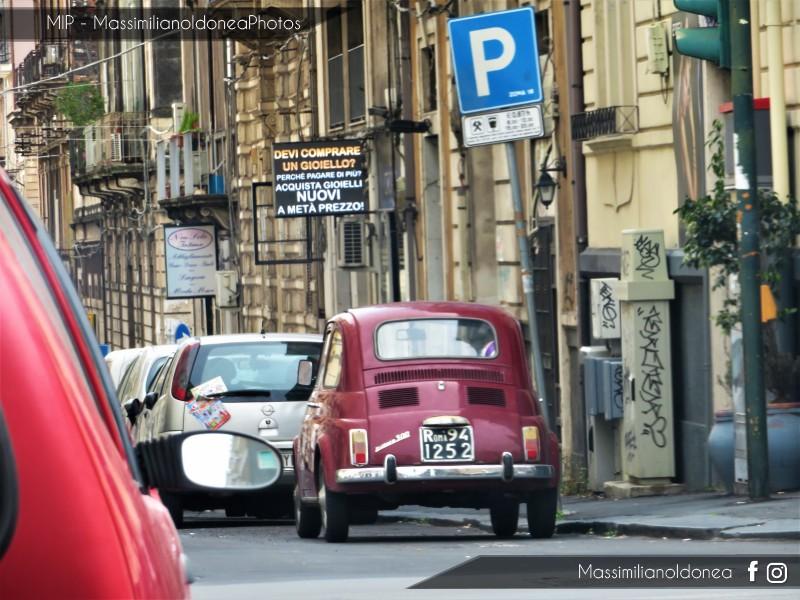avvistamenti auto storiche - Pagina 17 Fiat-500-F-RM941252