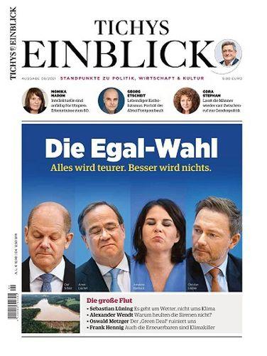 Cover: Tichys Einblick Magazin No 09 September 2021