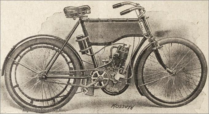 Autobicyclette Stimula modèle 1903, Ateliers de la Grosne, Cormatin