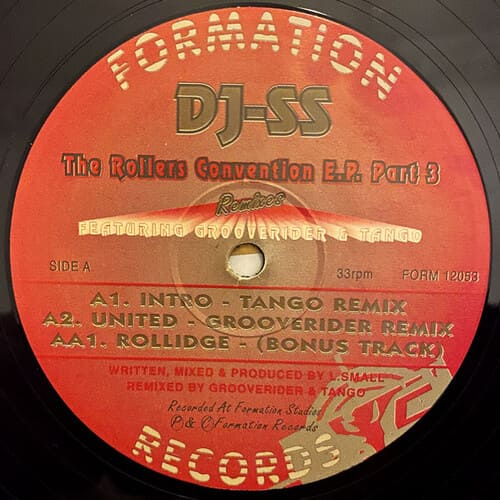 Download DJ SS - The Rollers Convention E.P. Part 3 mp3
