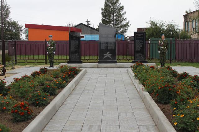 Открытие памятника в селе Митрофаново