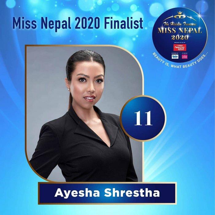 CANDIDATAS A MISS NEPAL 2020. FINAL 3 DE DICIEMBRE. 11