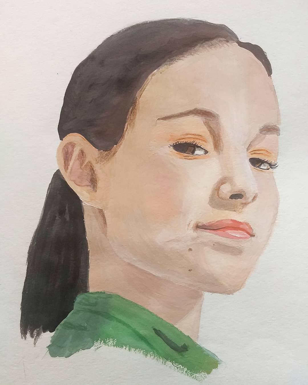 @maraily_art - Лицо Анны Щербаковой