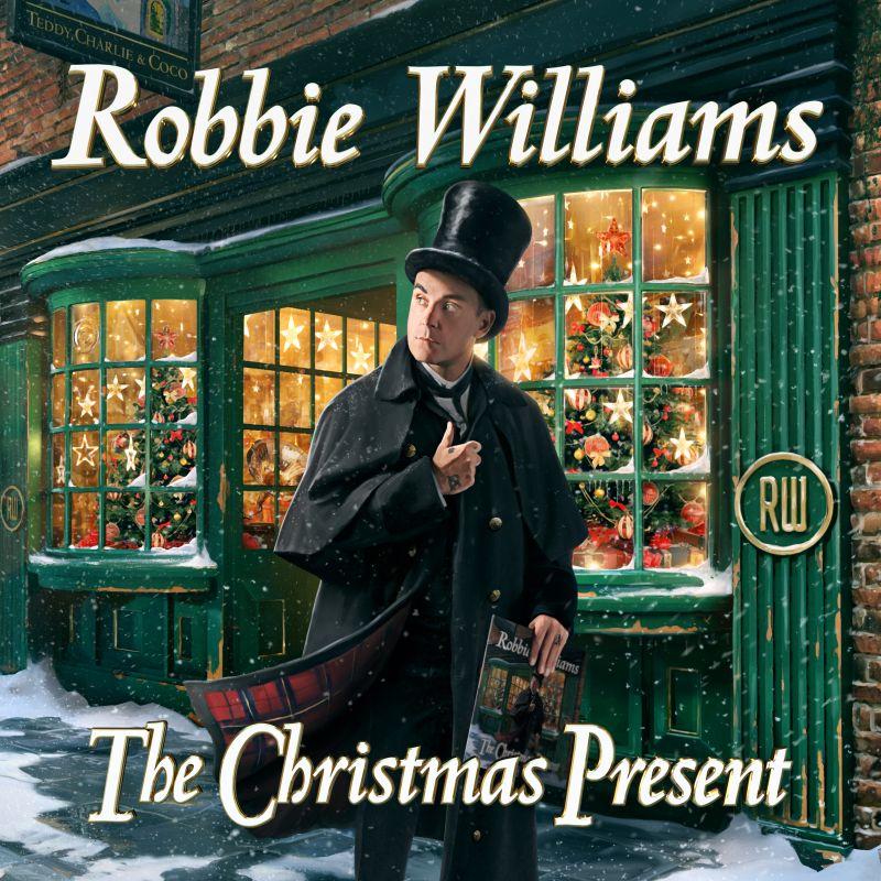 """Robbie Williams, è uscito il nuovo singolo natalizio """"Can't stop Christmas"""""""