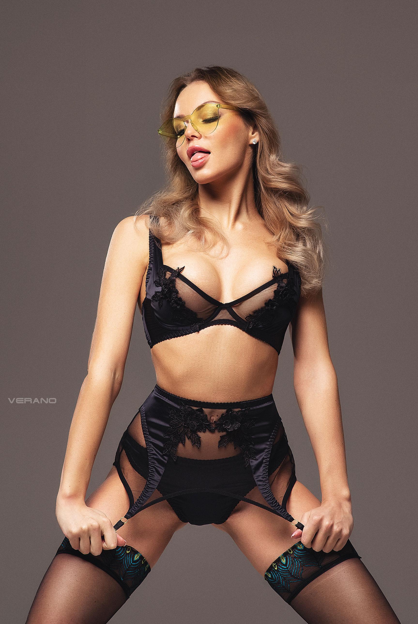 Ангелина в сексуальном нижнем белье Misstease / фото 11