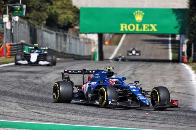 Alpine poursuit sa série d'entrées dans les points avec un double top dix à Monza Grand-Prix-d-Italie-2021-Alpine-A521-N31-Esteban-OCON-7