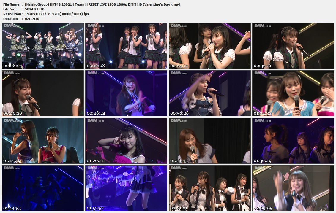 Naisho-Group-HKT48-200214-Team-H-RESET-LIVE-1830-1080p-DMM-HD-Valentine-s-Day-mp4