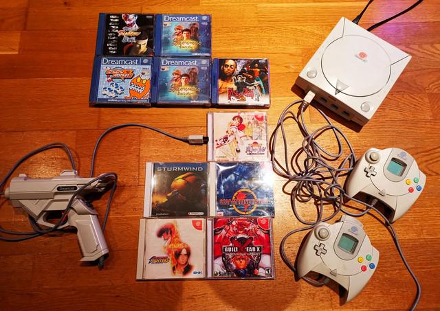 [VDS] Lot Dreamcast + 9 Jeux Lot-dreamcast