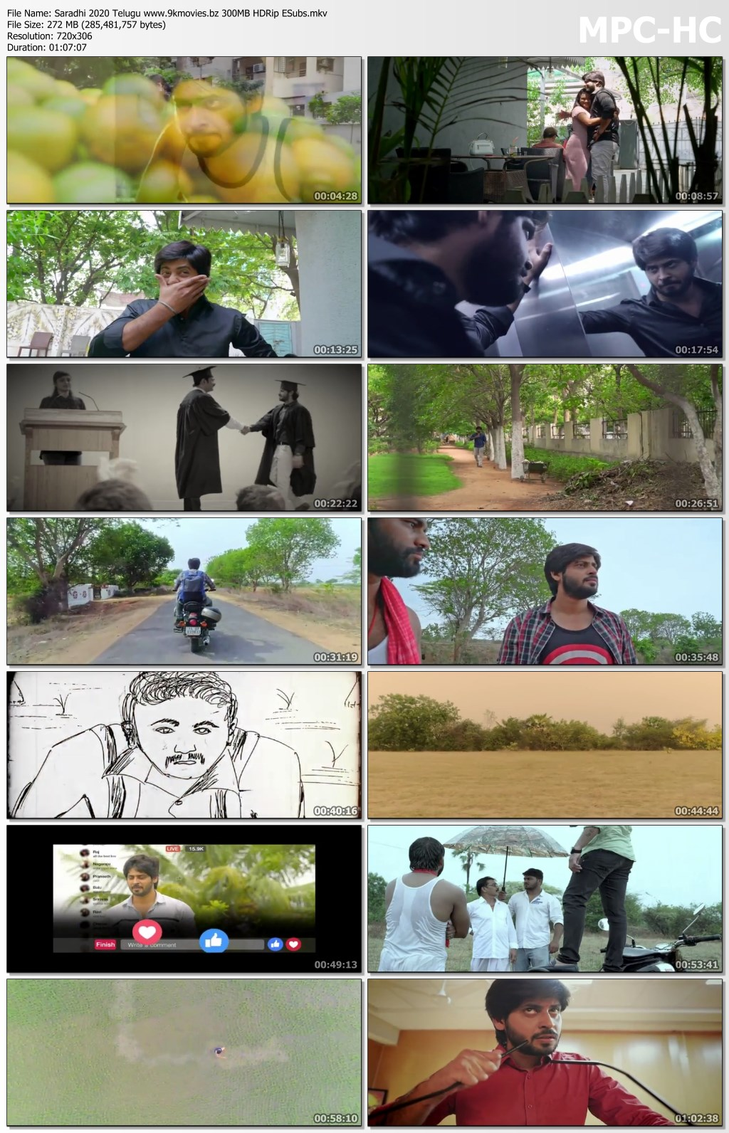 Saradhi bingtorrent Screen shots