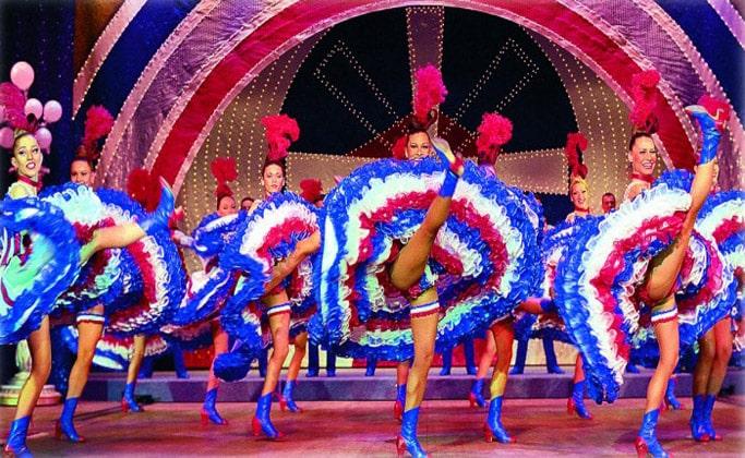 Танец канкан в Муле Руж