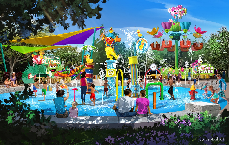 Sesame Street Land SeaWorld Orlando